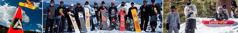 Tablas Academy Snowboards