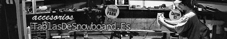 Accesorios para snowboard