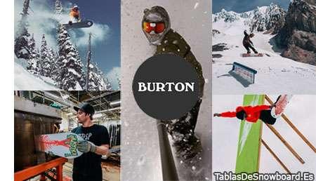 Burton Snowboards 2017