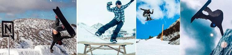 Tablas Nitro Snowboard 2018